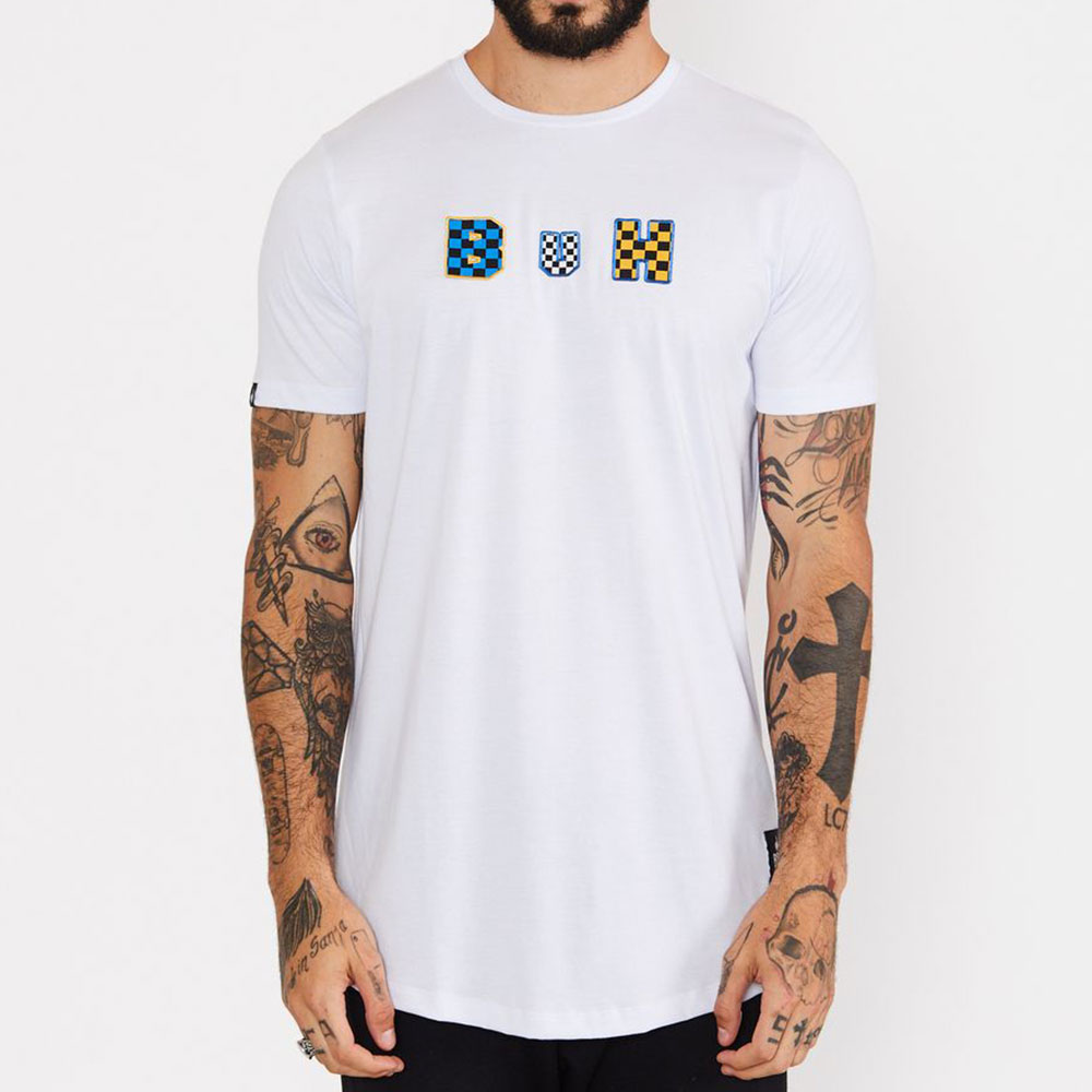 Camiseta Buh Flag Bordado