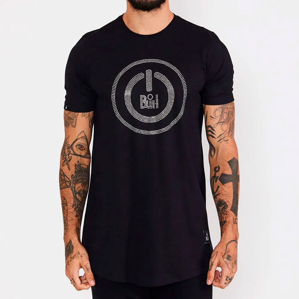 Camiseta Buh Iniciar Preta