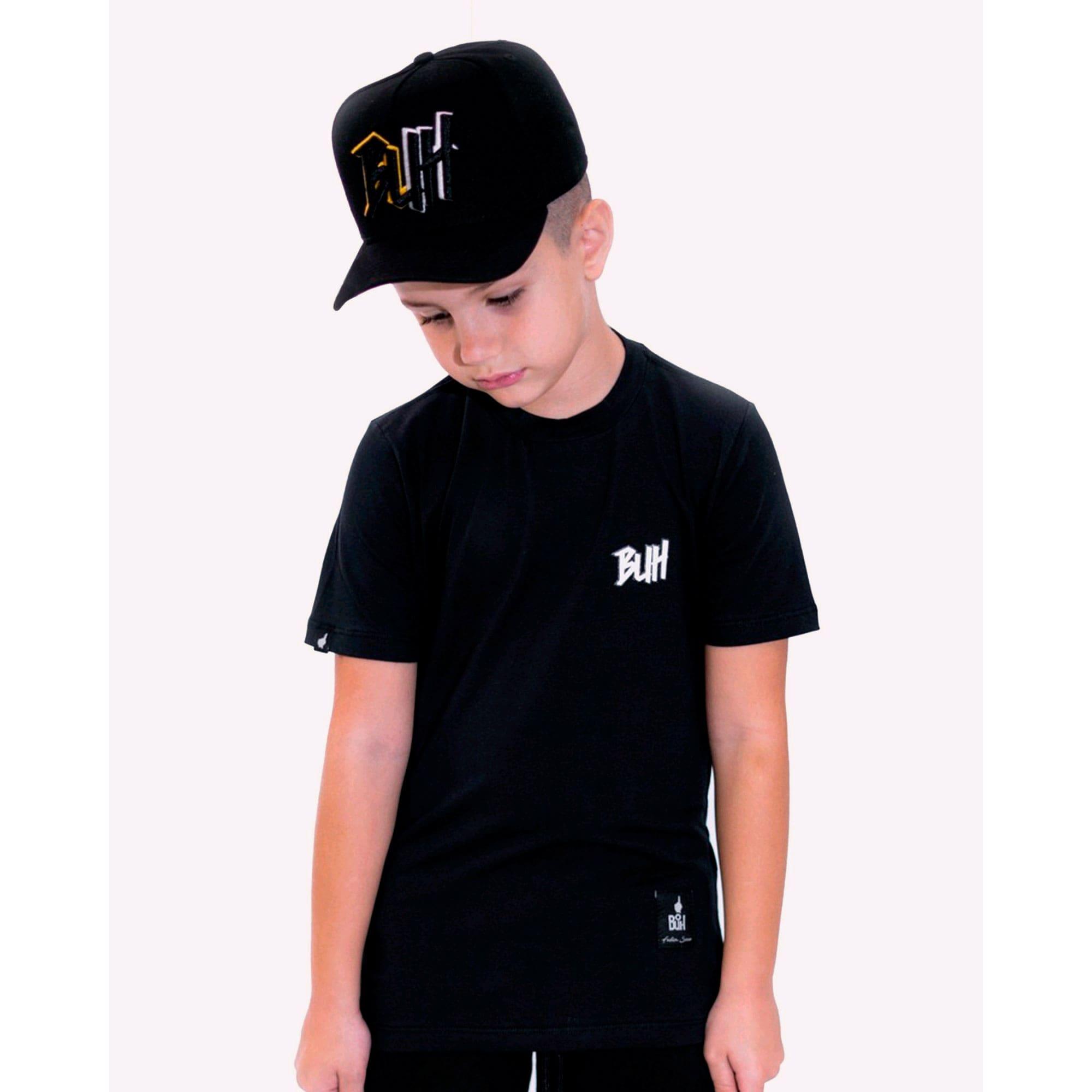 Camiseta Buh Kids Basic HQ Black