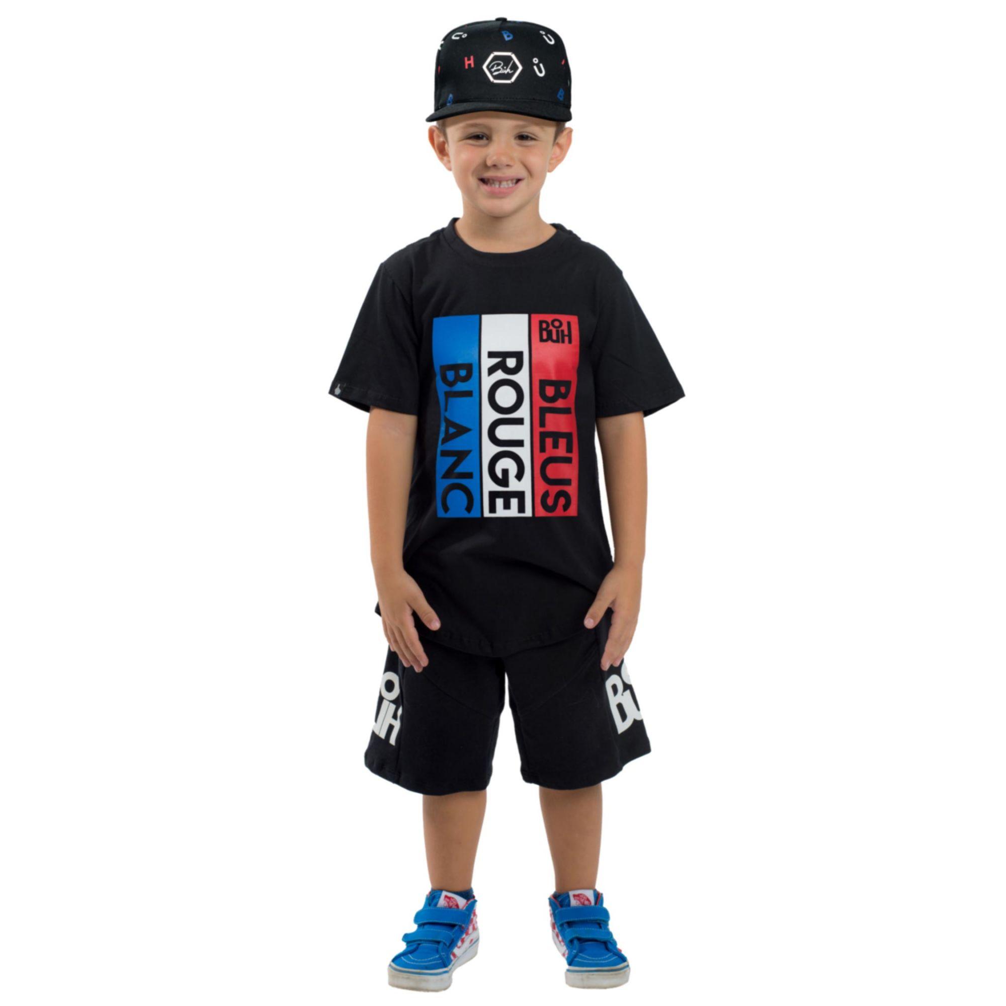 Camiseta Buh Kids BRB Black