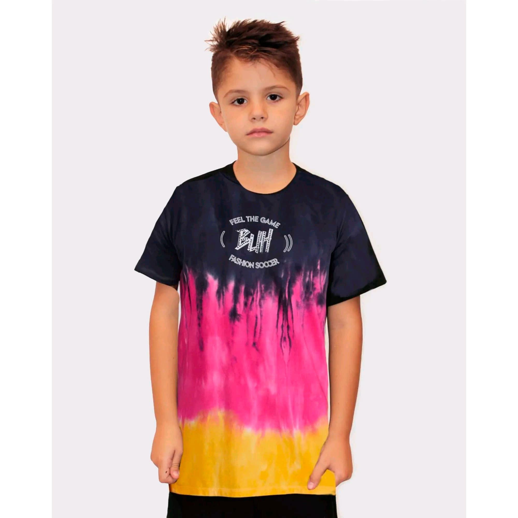 Camiseta Buh Kids Degradê Color