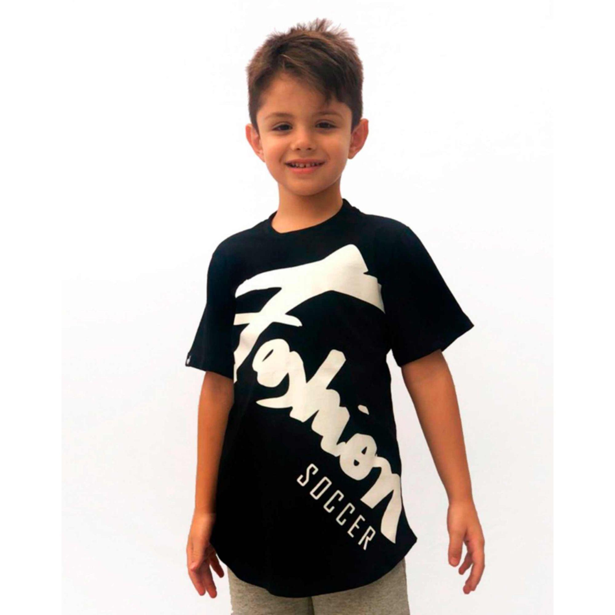 Camiseta Buh Kids Fashion Player Black