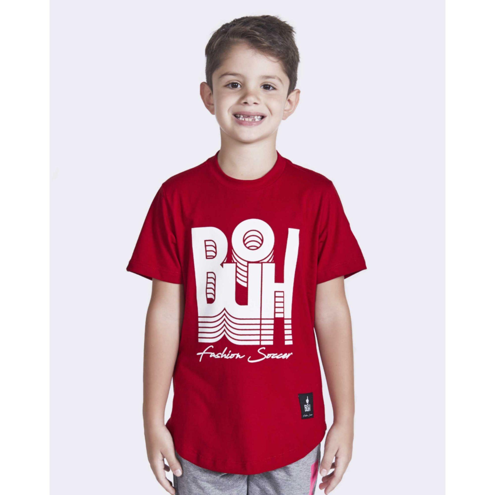 Camiseta Buh Kids Inverse Red