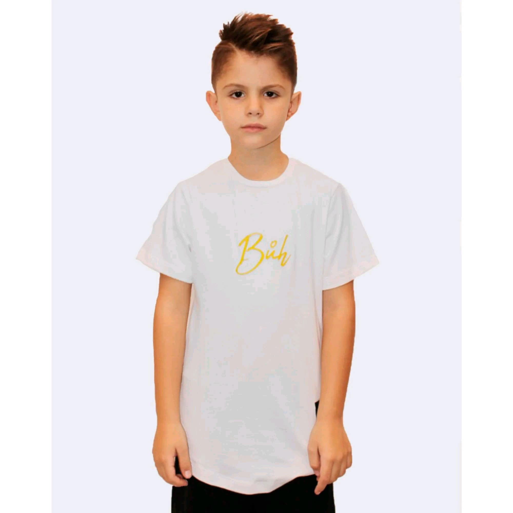 Camiseta Buh Kids Meio White