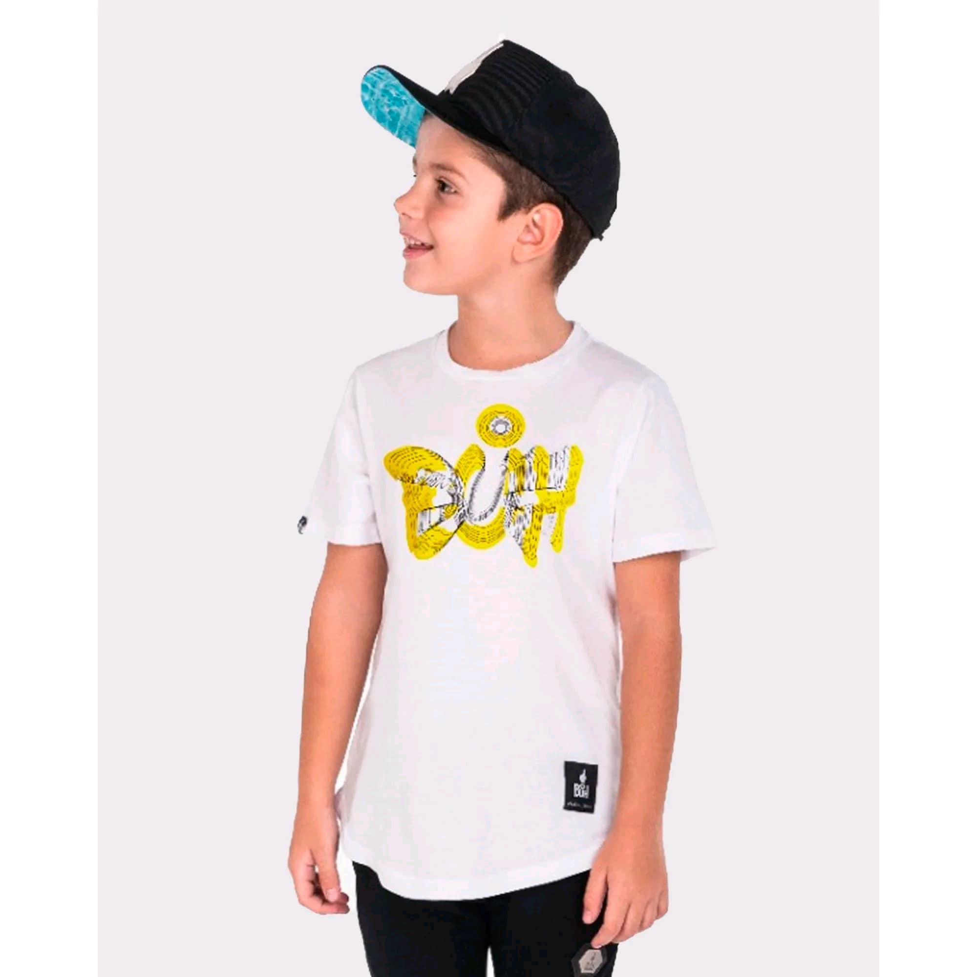 Camiseta Buh Kids Optica White