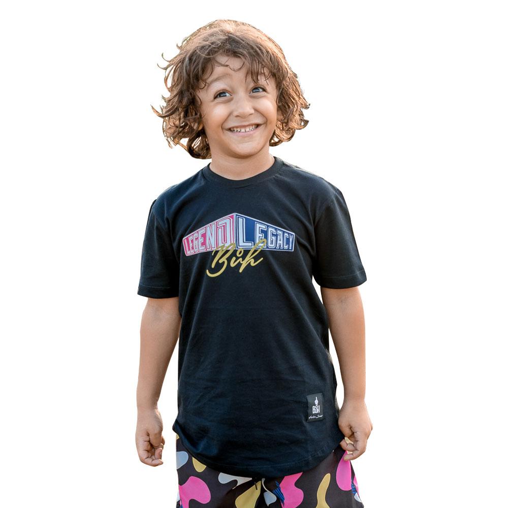 Camiseta Buh Kids Preta Legend and Legacy