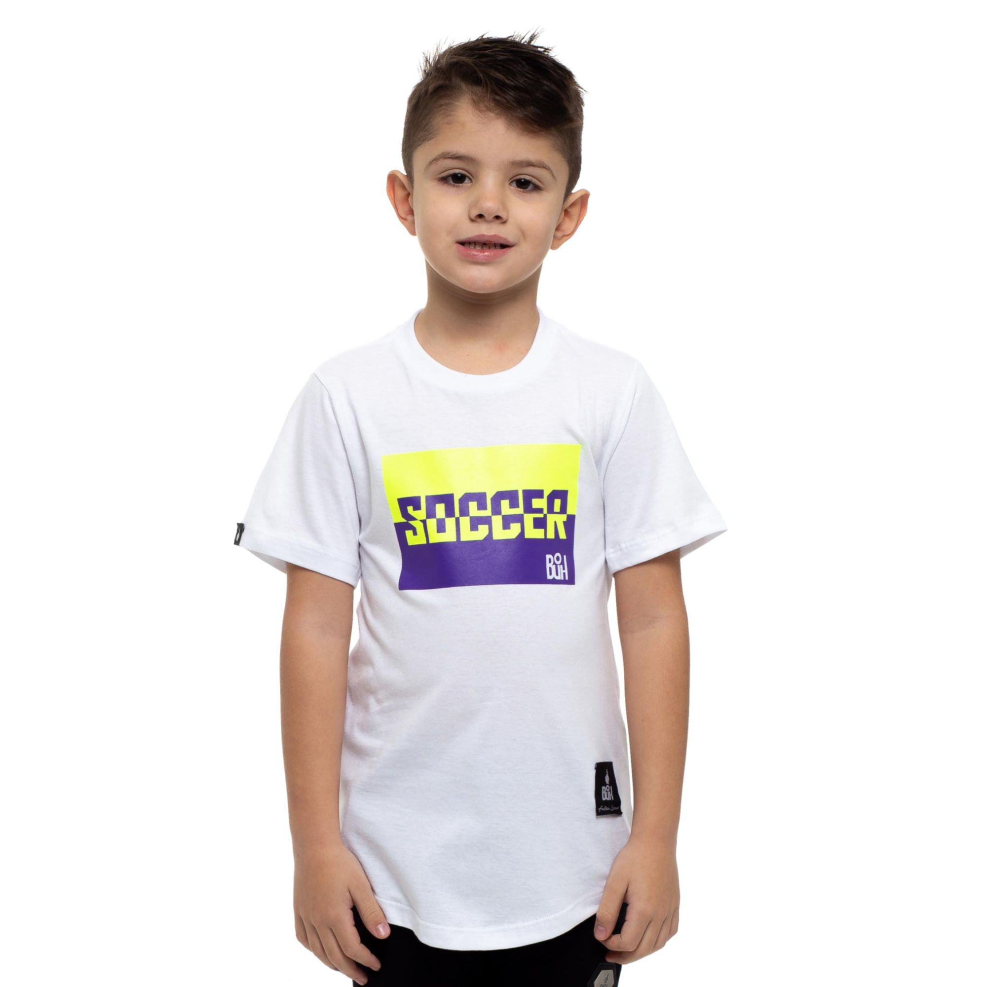 Camiseta Buh Kids Soccer Color White