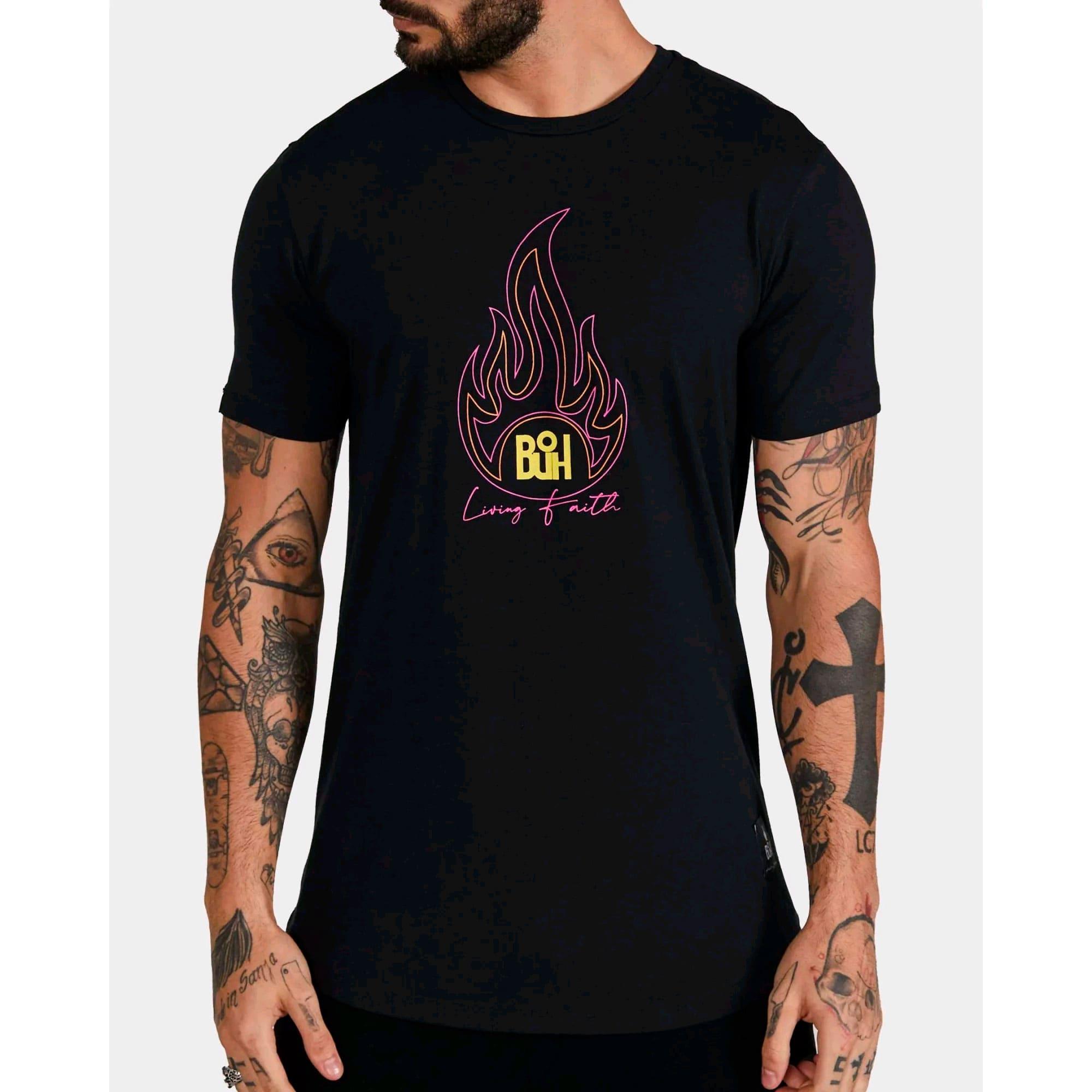 Camiseta Buh Living Faith Black