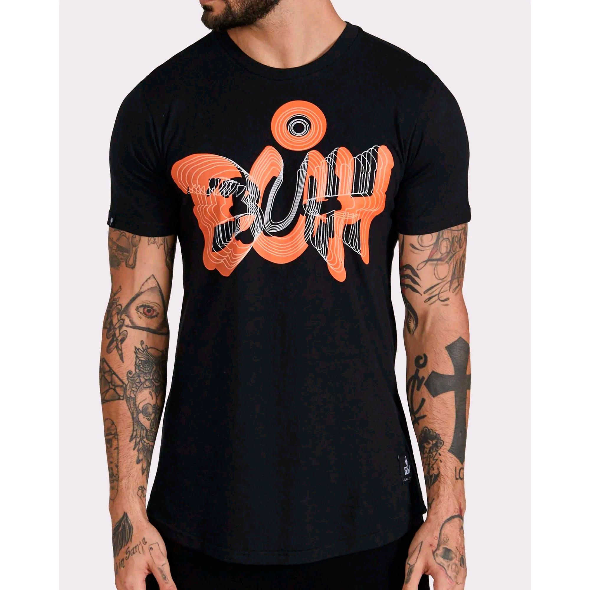 Camiseta Buh Óptica Black