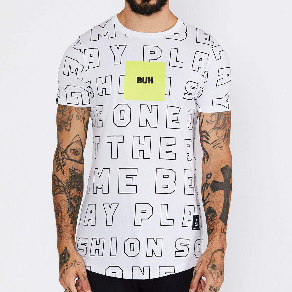 Camiseta Buh Outline Branca
