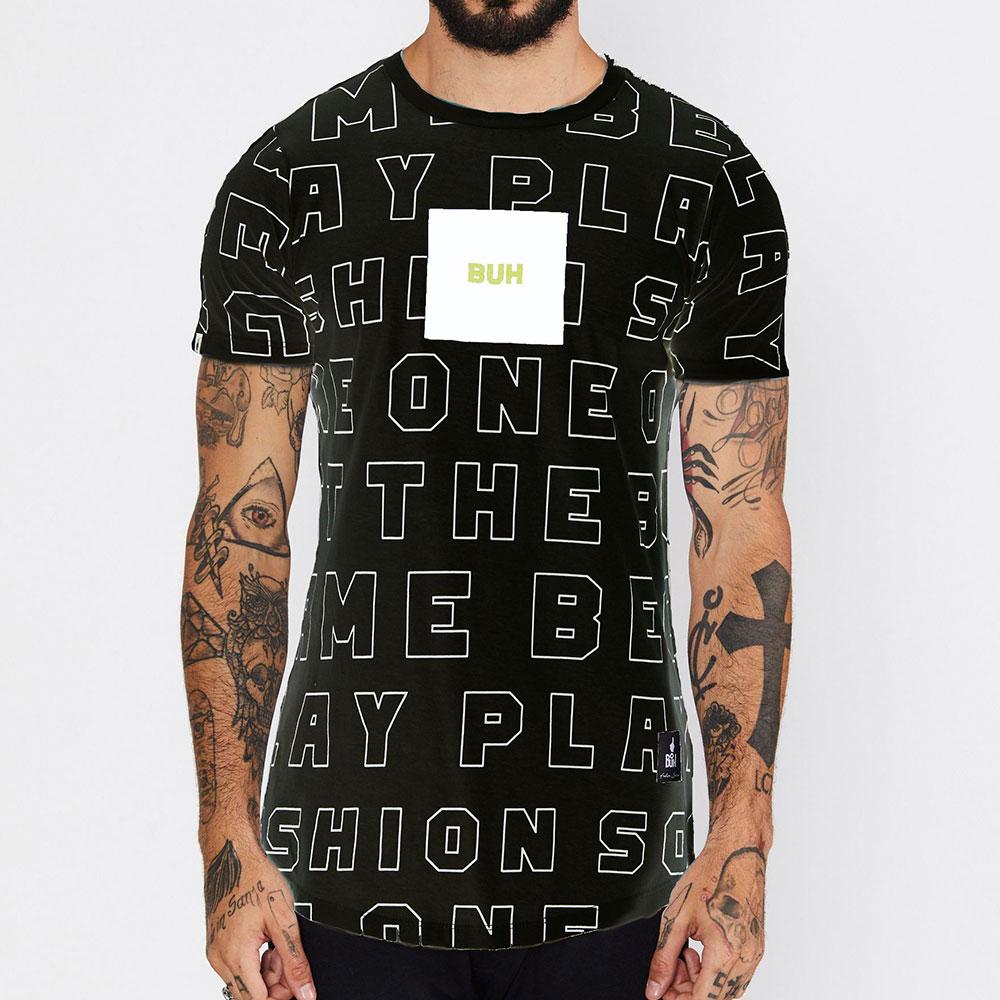 Camiseta Buh Outline Preta