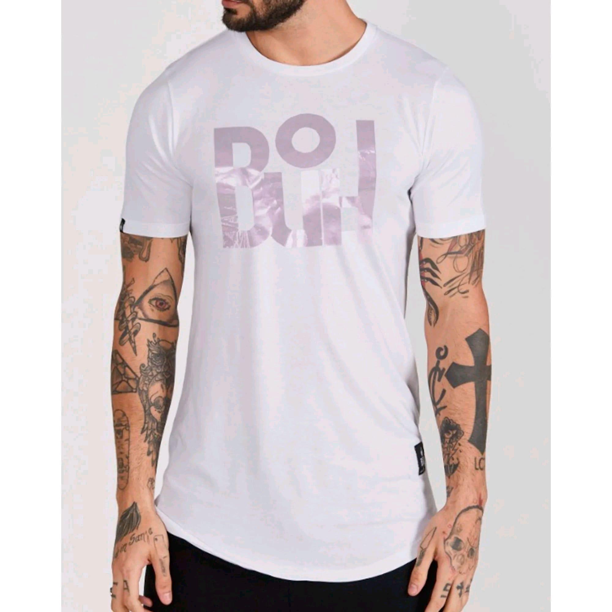 Camiseta Buh Silver White
