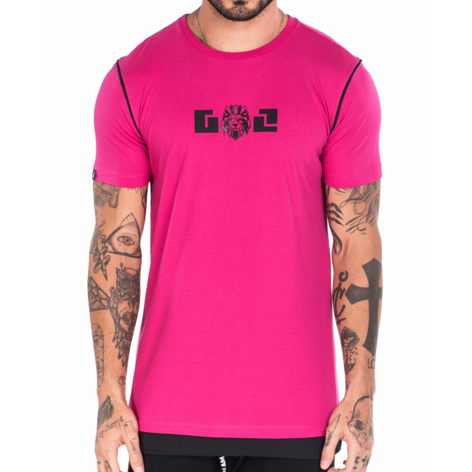 Camiseta Gol By Buh Pink