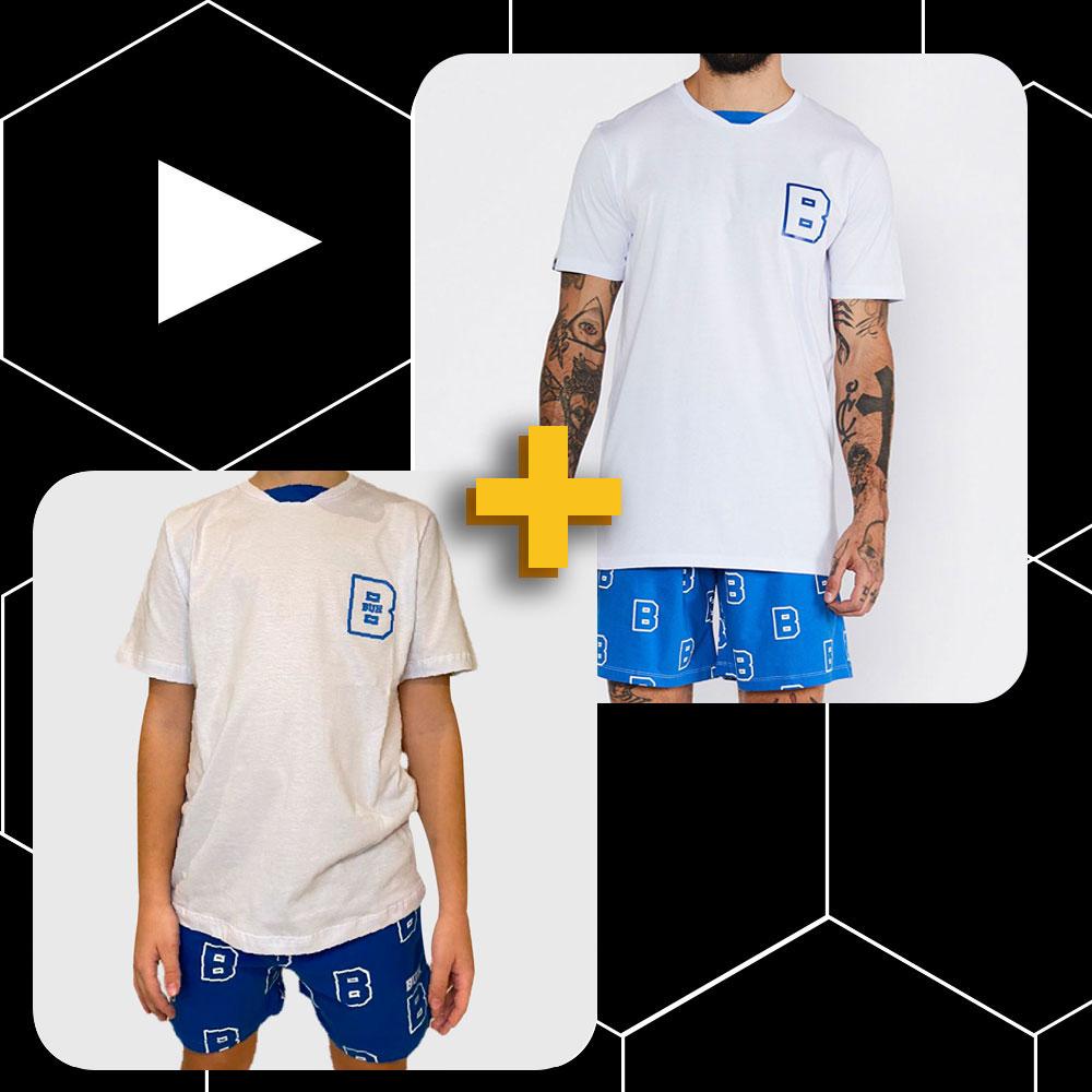 Conjunto Buh Pijama Pai e Filho  B Chest