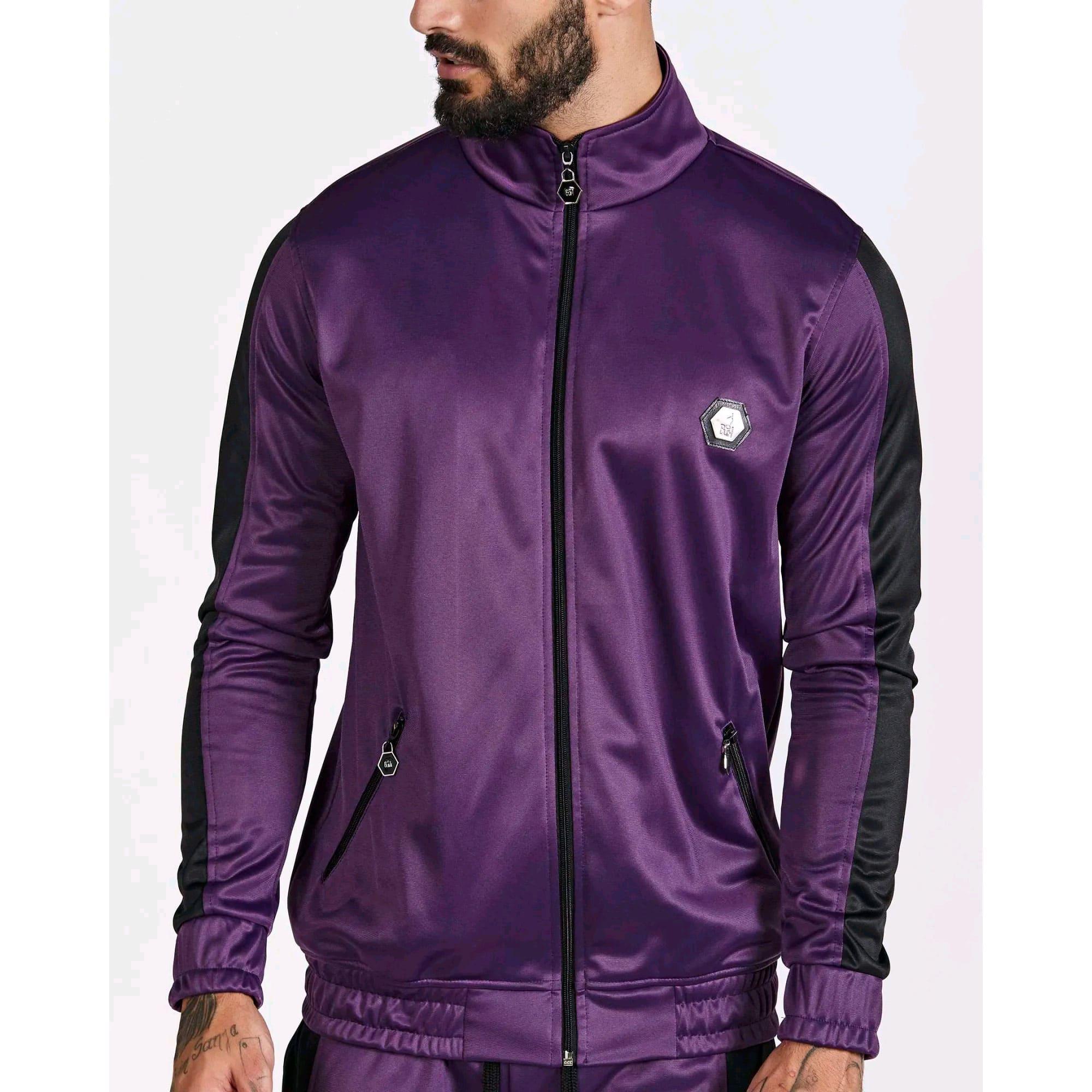 Jaqueta Buh Helanca Purple