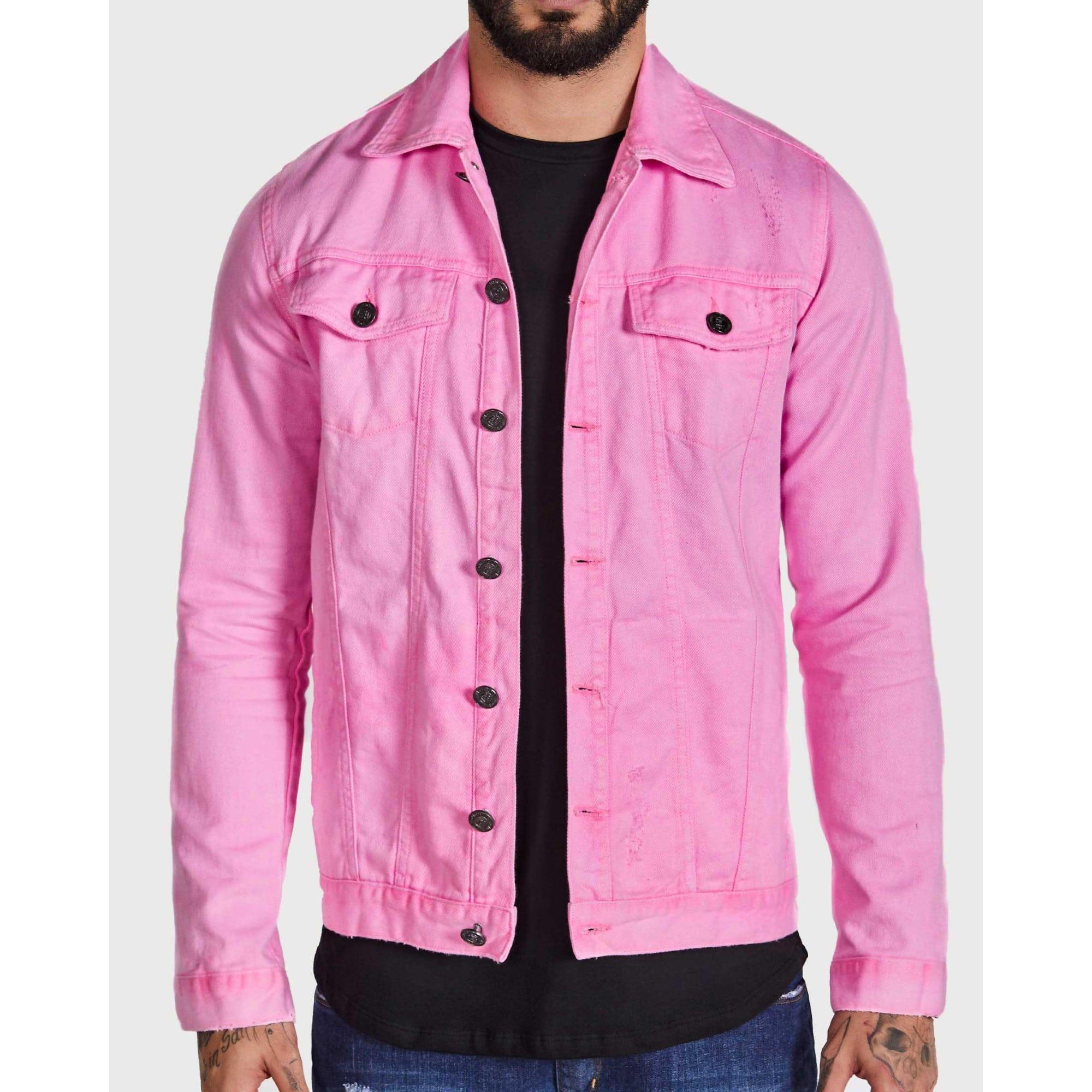 Jaqueta Buh Pink Fluor