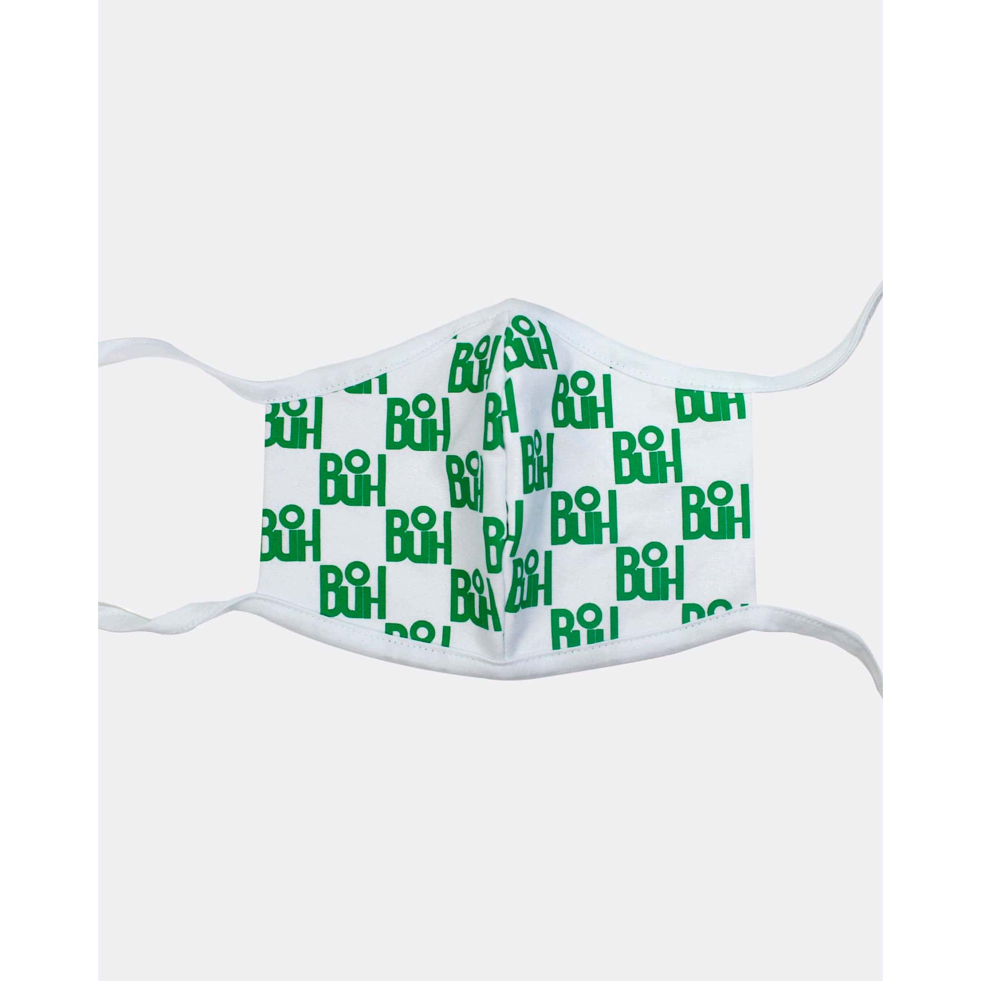 Máscara Buh Proteção Full Print Green and White