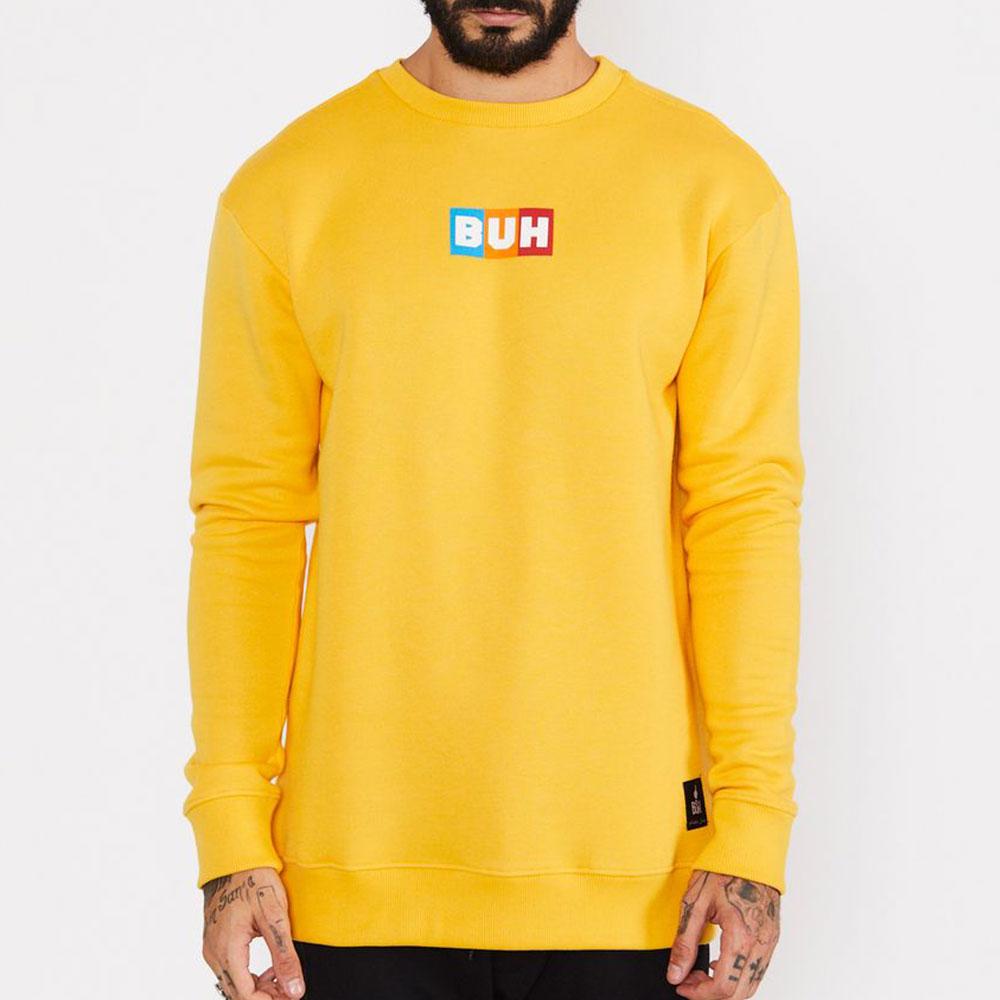Moletom Buh Flag Amarelo