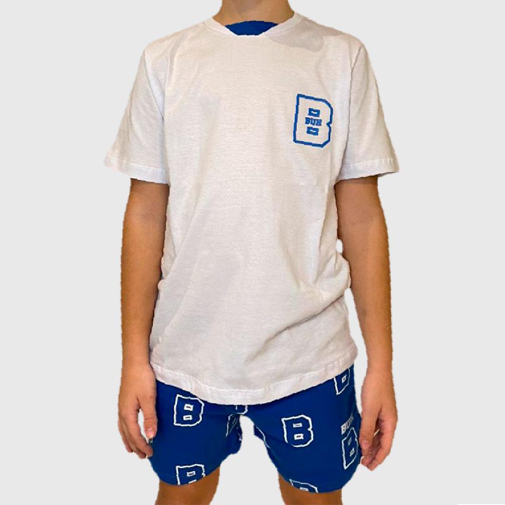 Pijama Buh Kids B Chest Branco