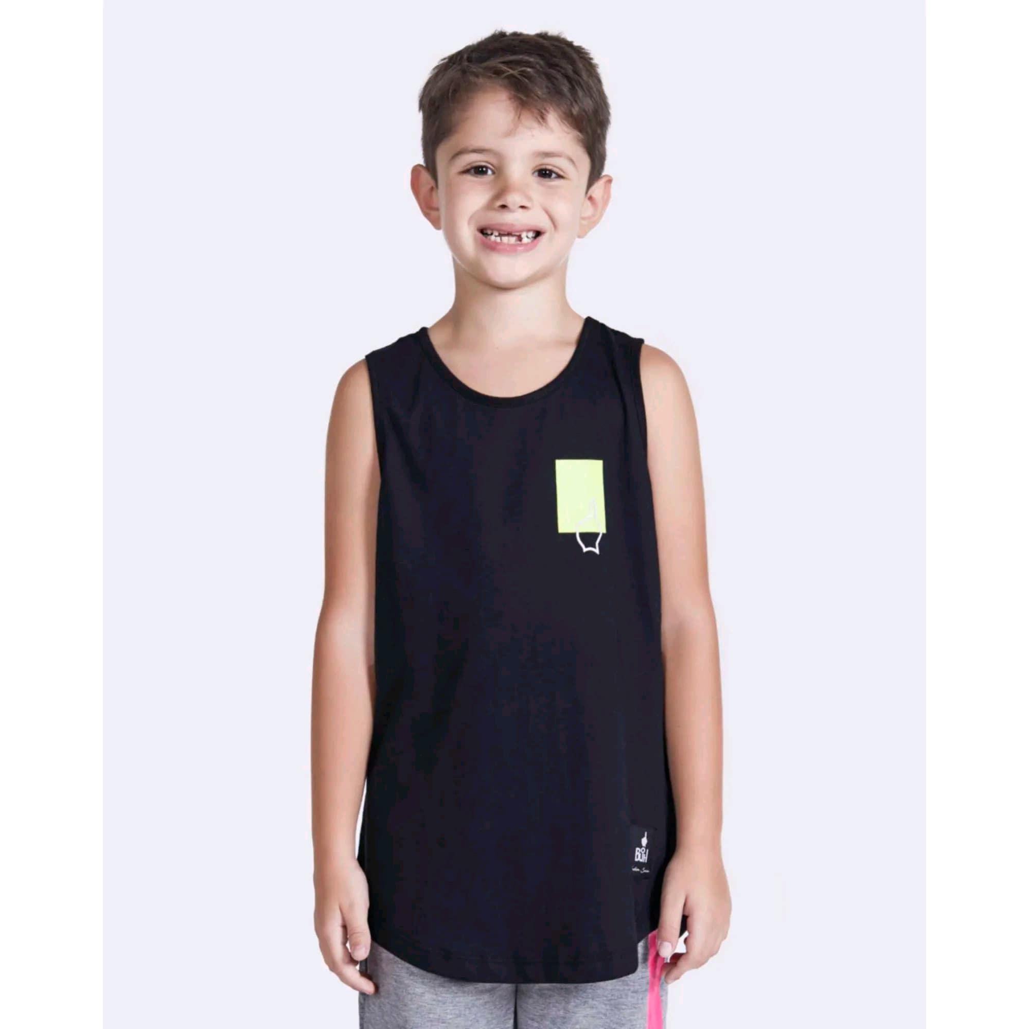 Regata Buh Kids Square Black & Neon
