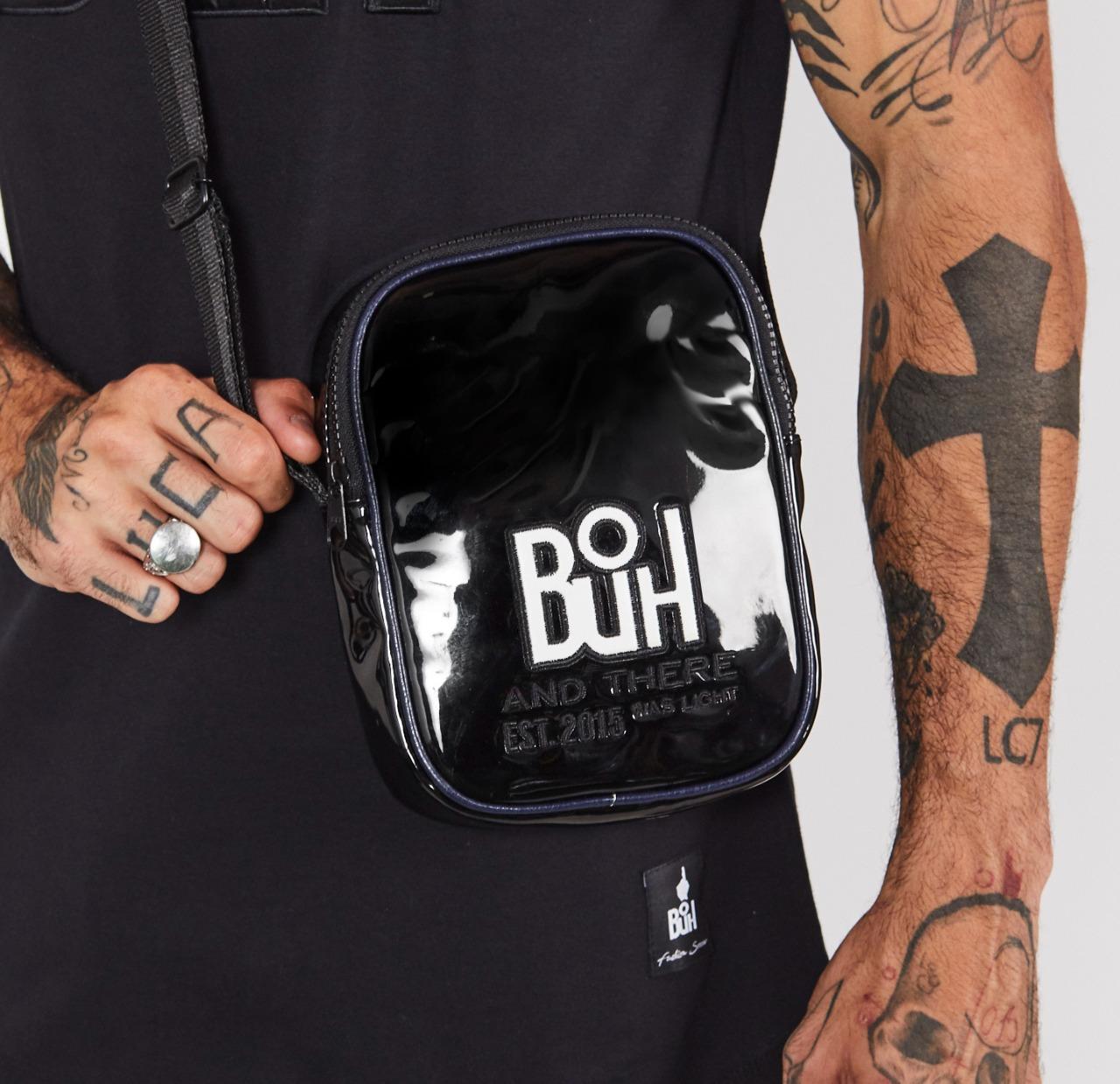 Shoulder Bag Buh Square Preta
