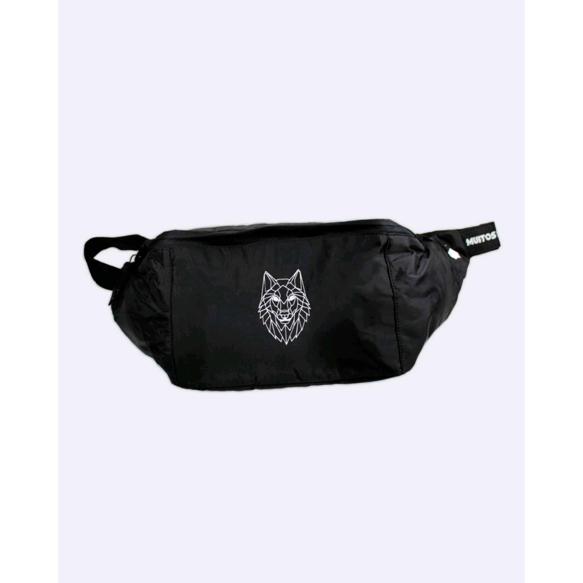 Shoulder Bag Gol by Buh Wolf Black