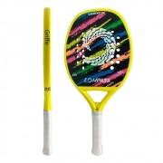 Raquete Beach Tennis Griffe Full Carbon + Grip de Brinde