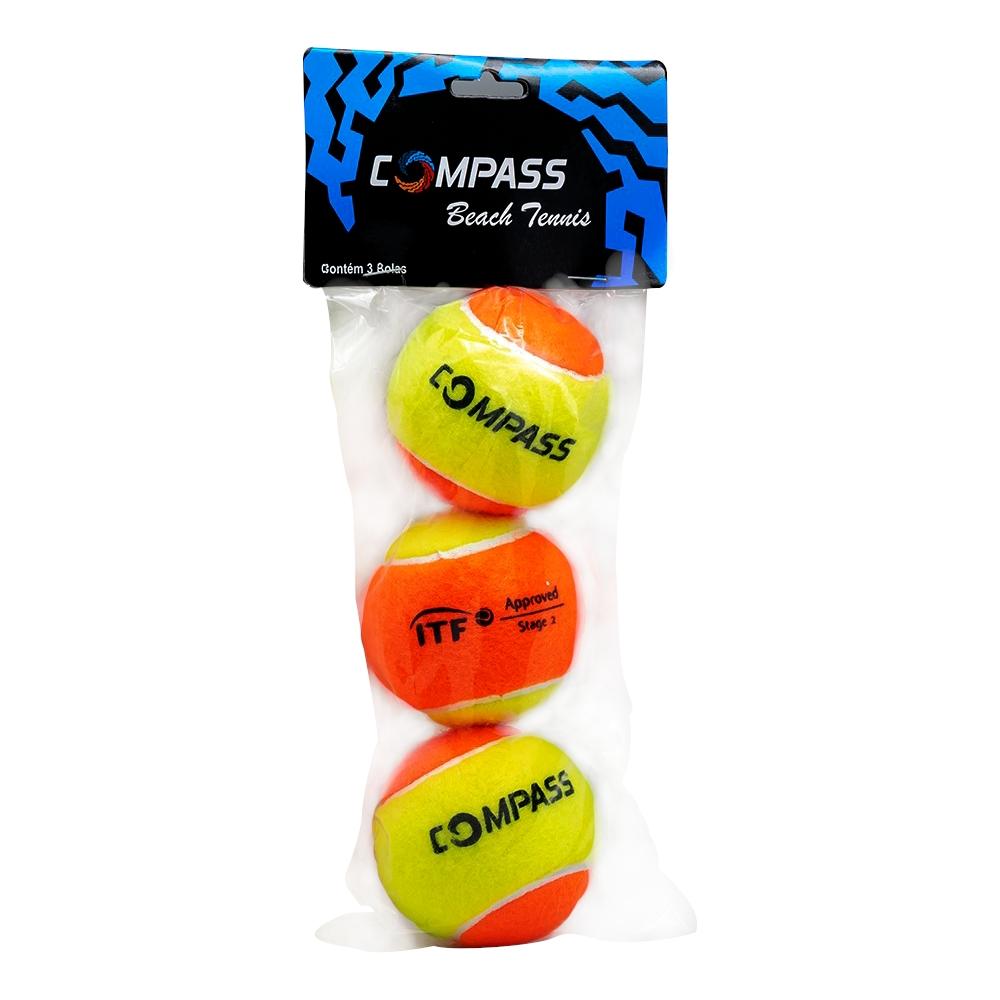 Bolas de Beach Tennis - 01 Pack com 3 bolas