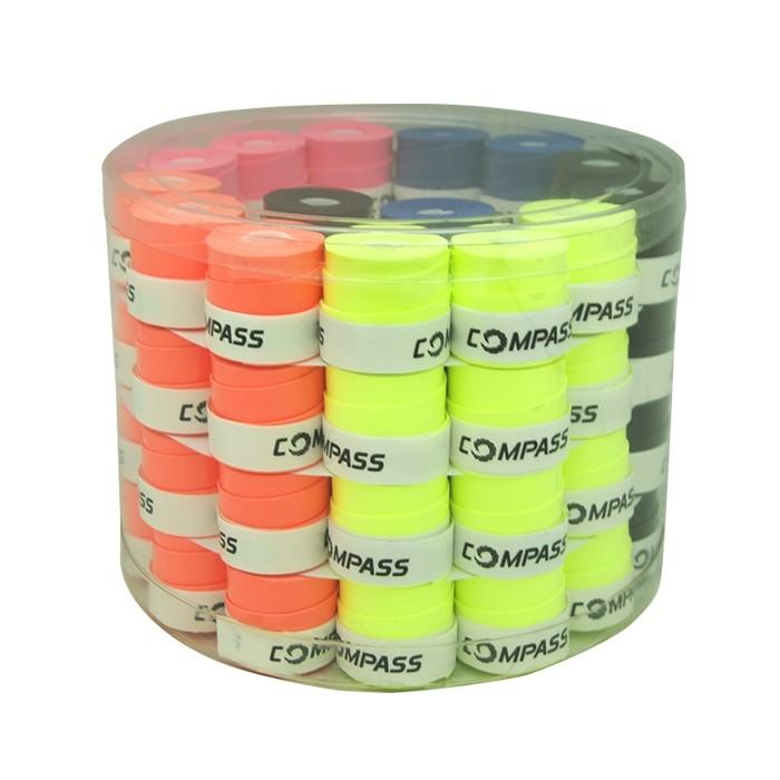Pote de Overgrips Colors c/ 60 unidades