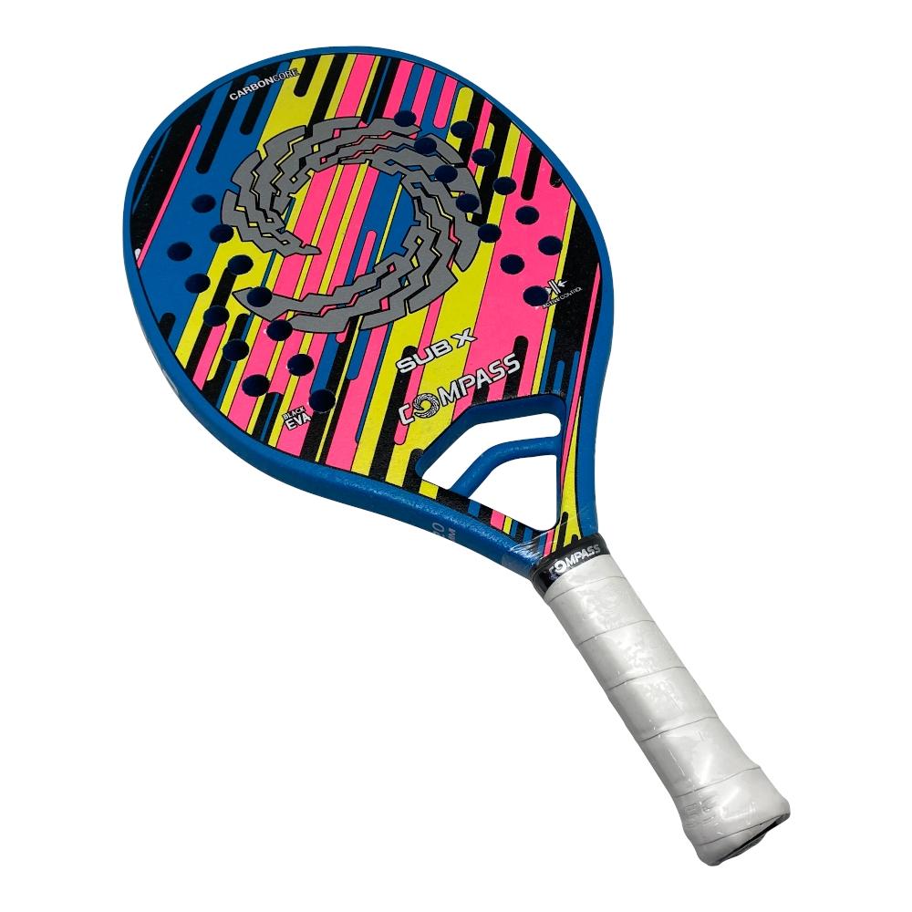 Raquete Beach Tennis Sub-X - INFANTIL + Grip de Brinde