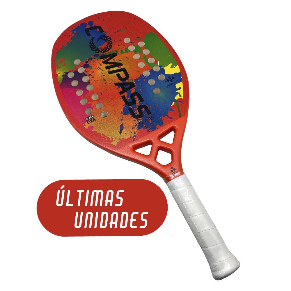 Raquete de Beach Tennis Colors Orange