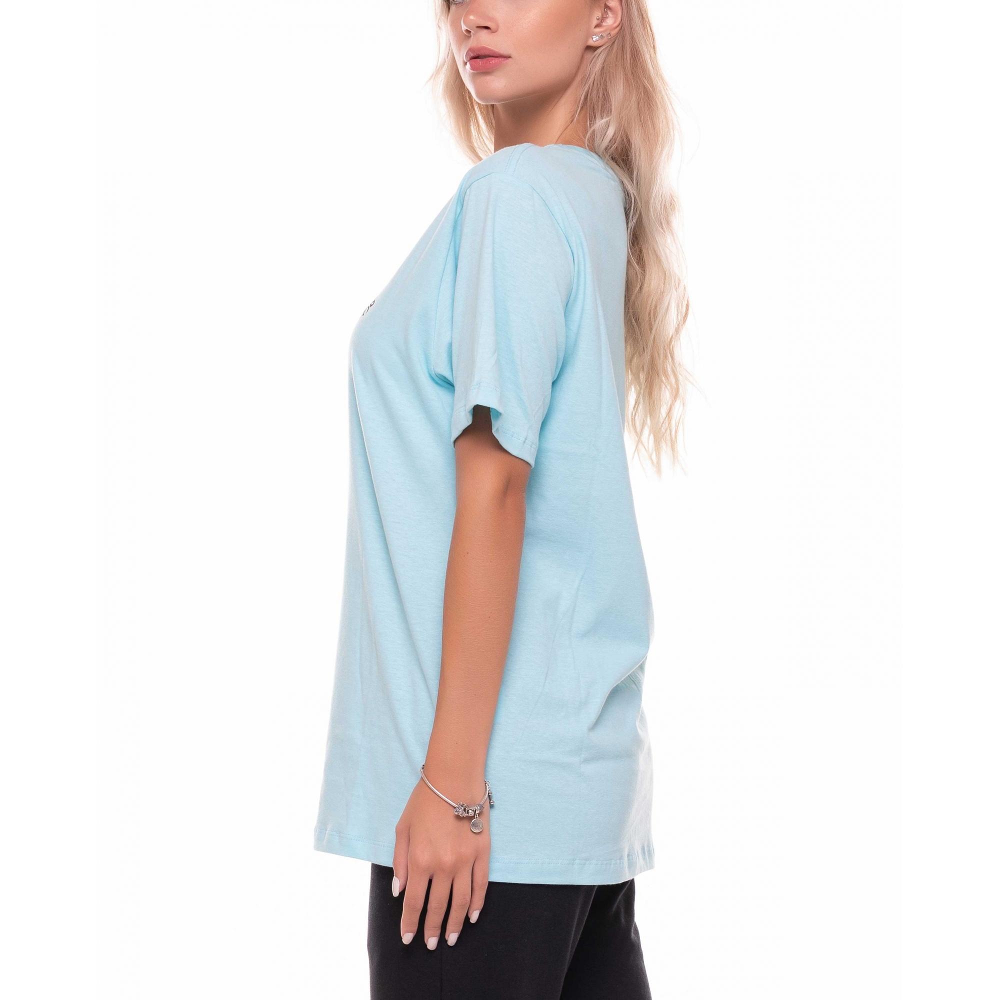 Camiseta Basic Azul Claro