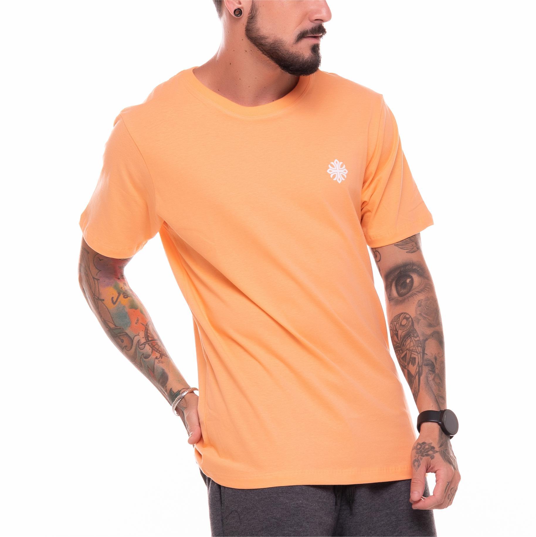 Camiseta Basic Machine Laranja