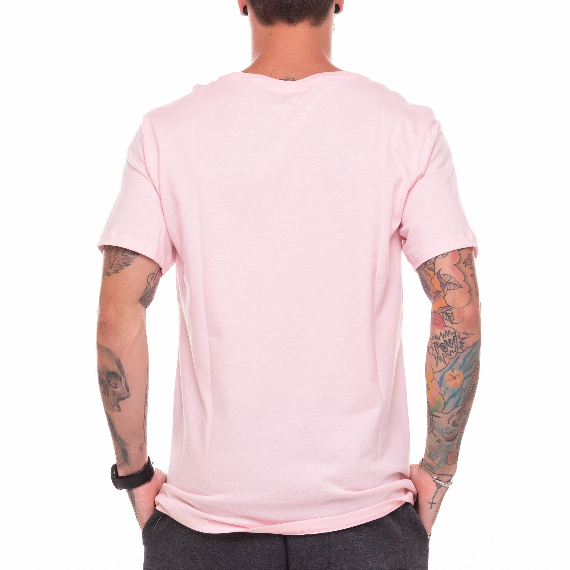 Camiseta Basic Machine Rosa Claro