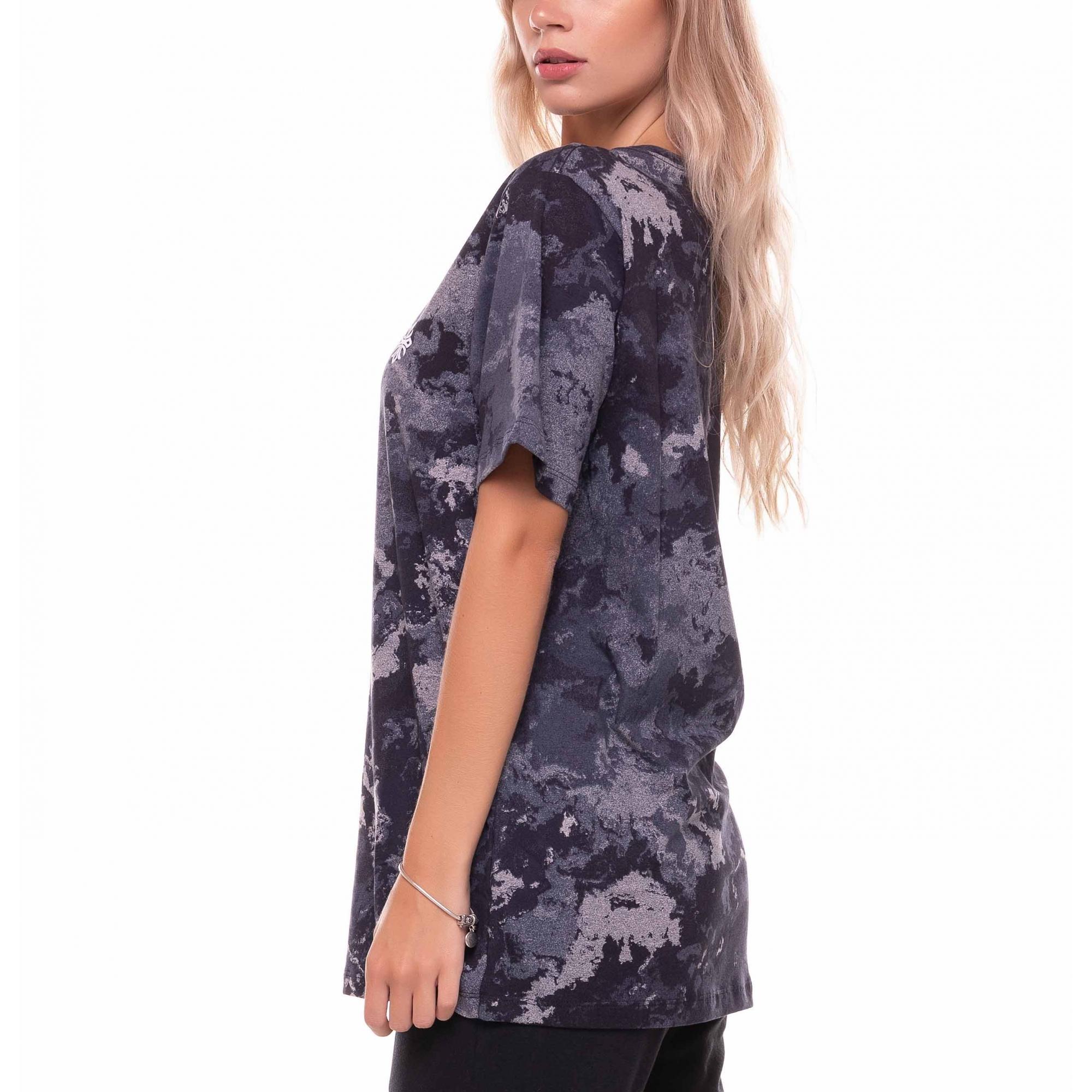Camiseta Basic Tie Dye Escuro