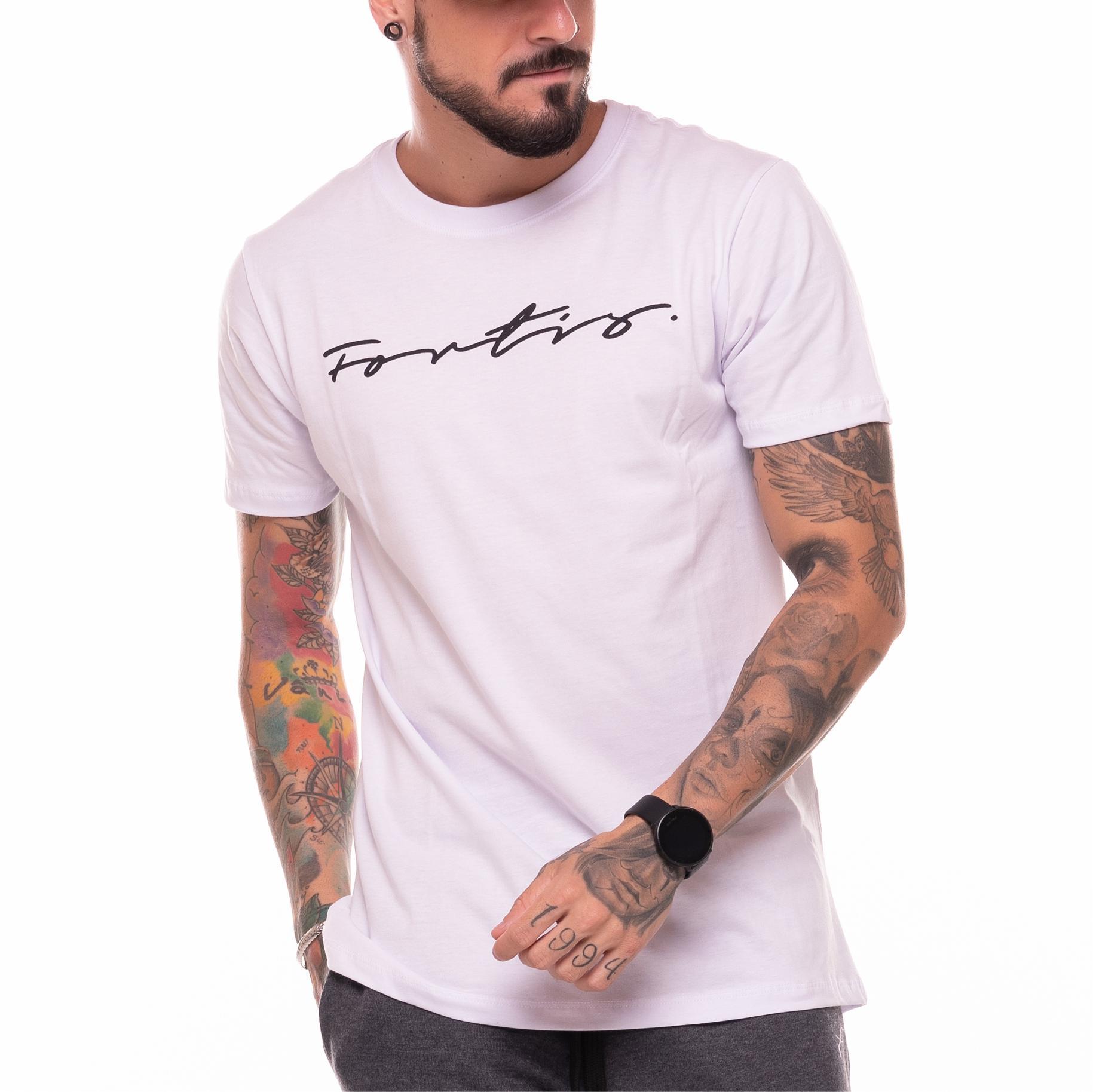 Camiseta Fortis Branca