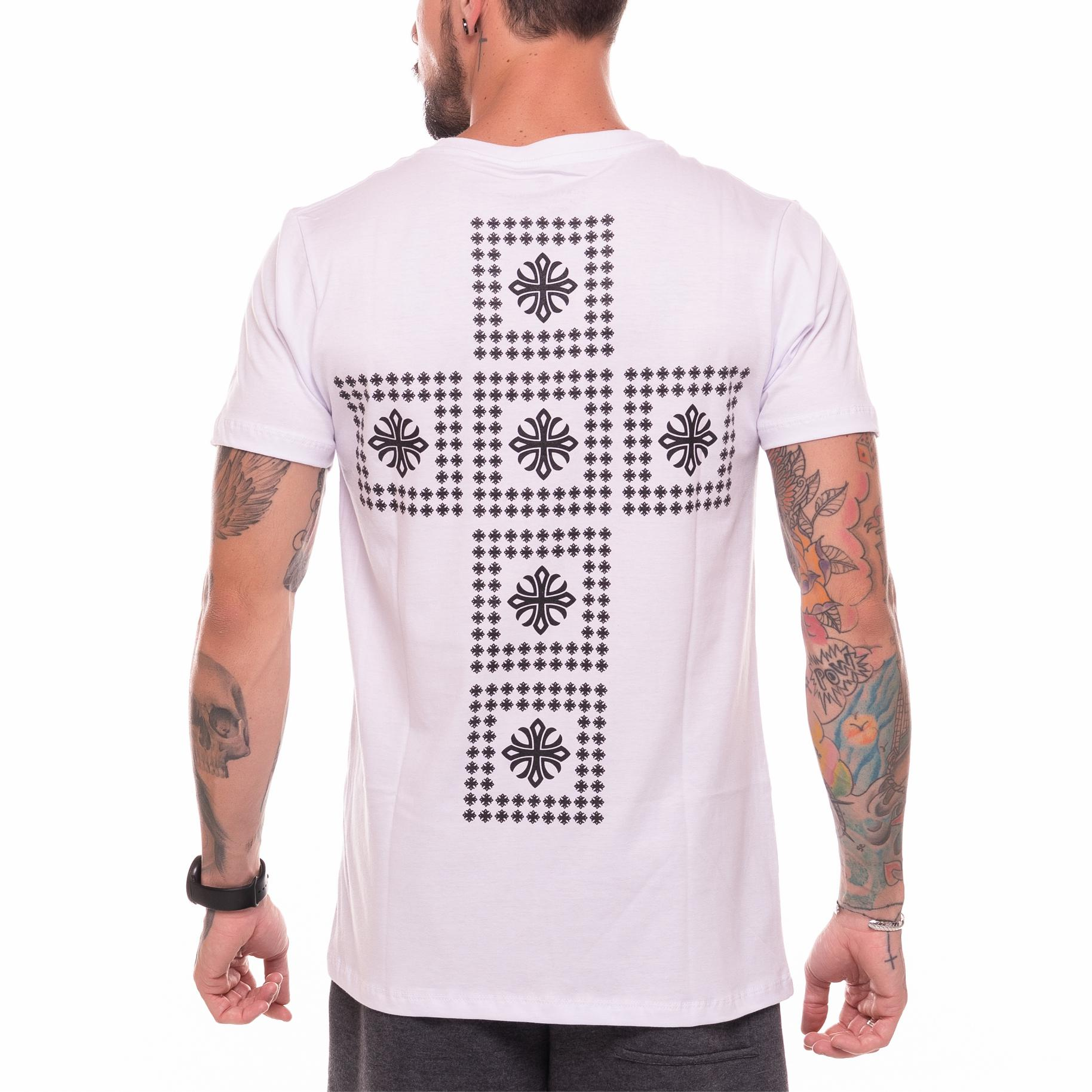 Camiseta Fortis Cross Branca