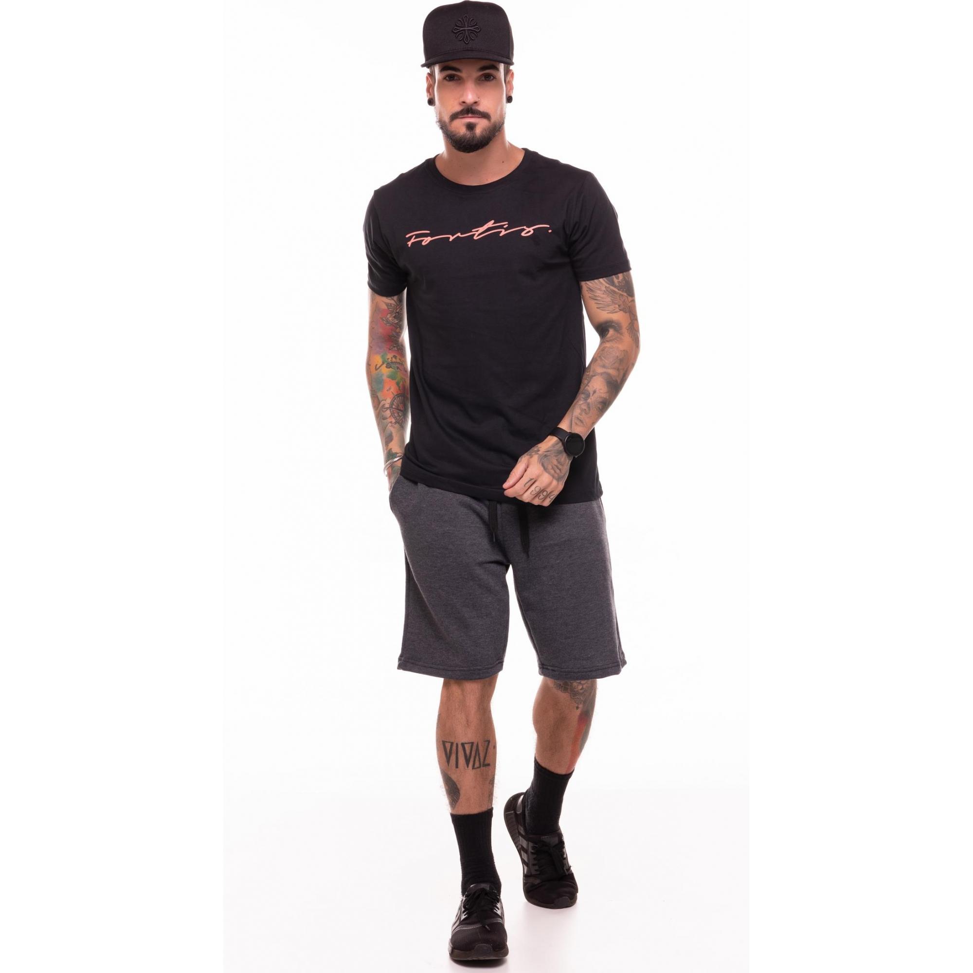 Camiseta Fortis Preta