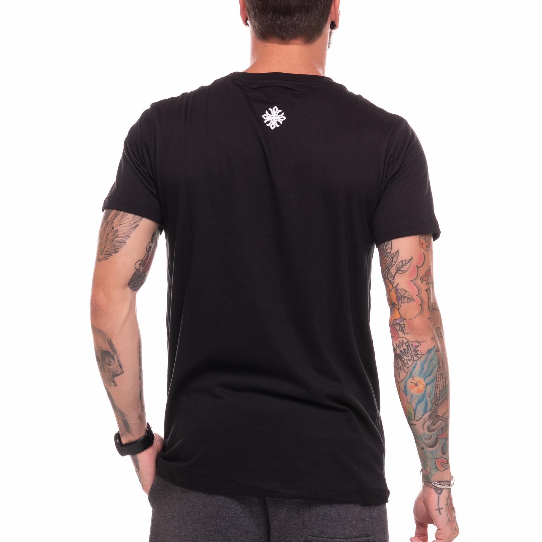 Camiseta Paris Skull Preta