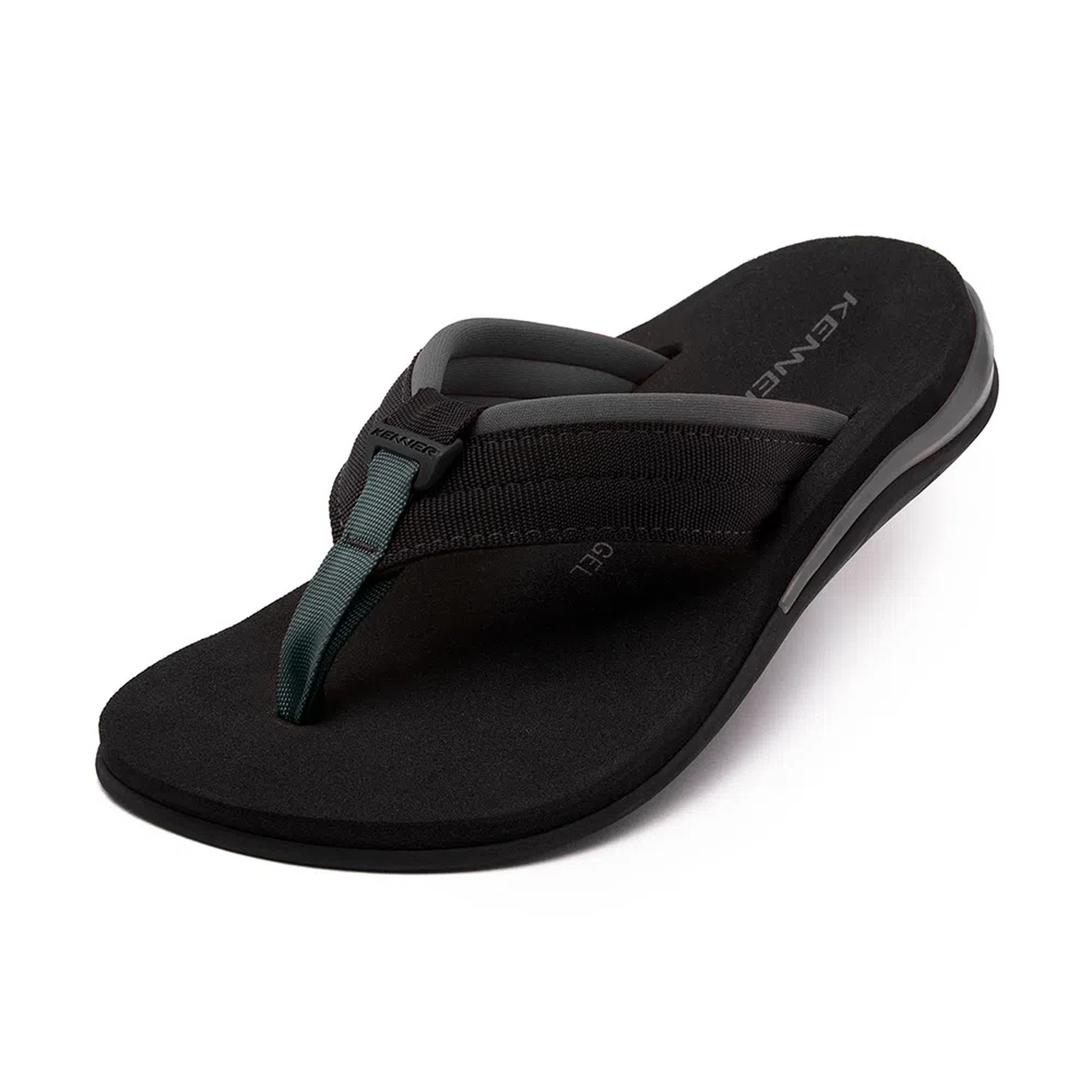 CHINELO KENNER ACTION GEL CINZA E PRETO