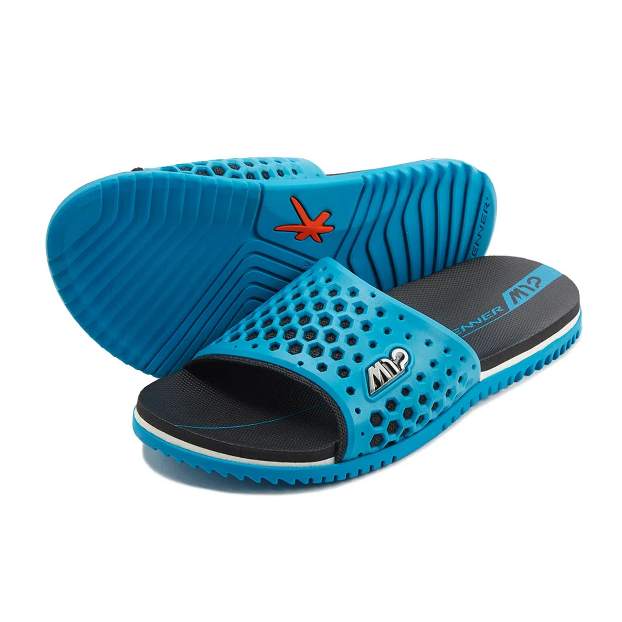 CHINELO KENNER SLIDE AZUL
