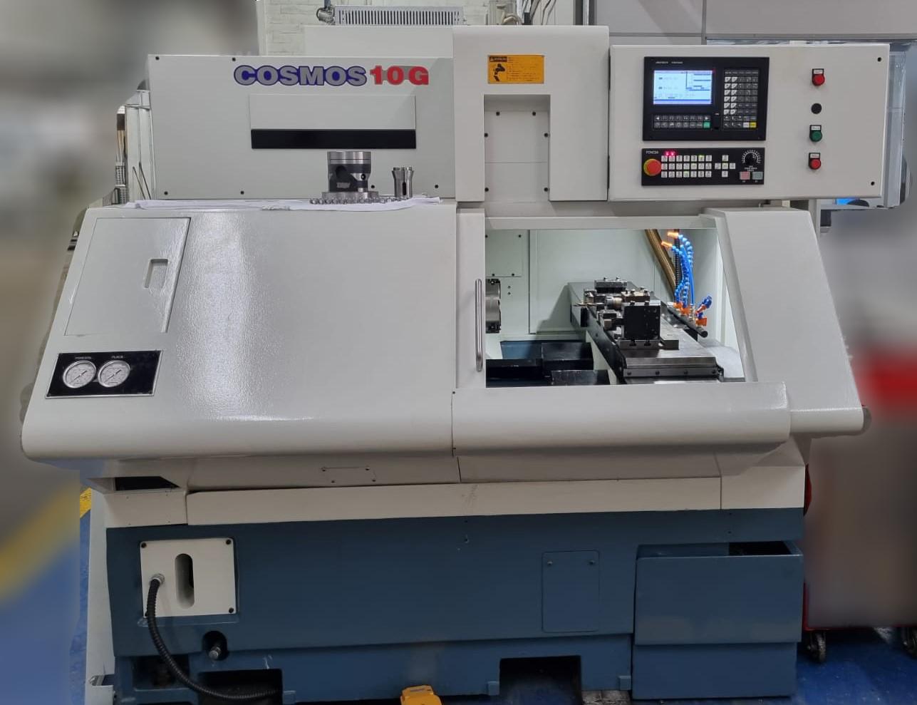 TORNO CNC ROMI MAZAK - COSMOS 10G