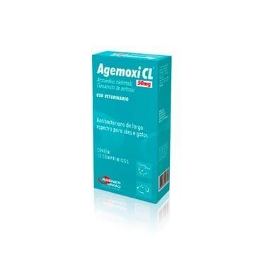 AGEMOXI 50MG 10 COMP.