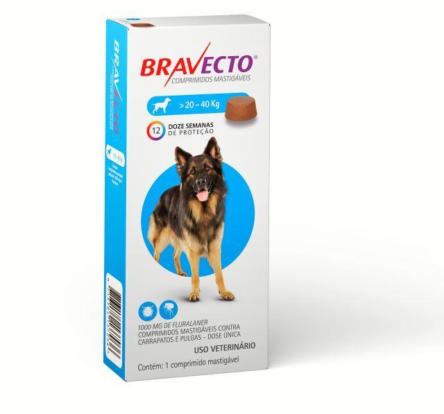 BRAVECTO 1000MG (20 - 40KG)