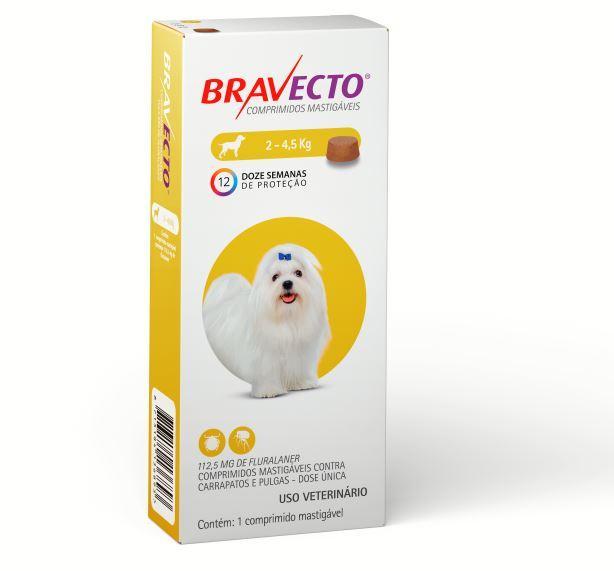 BRAVECTO 112,5MG (2 - 4,5KG)