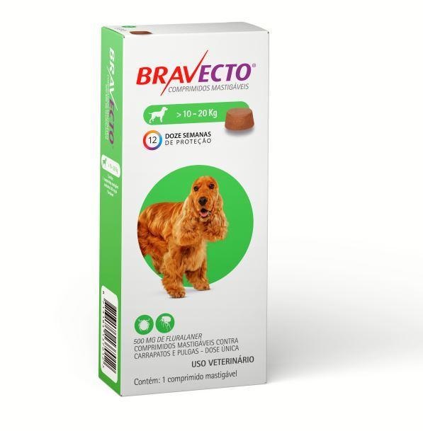 BRAVECTO 500MG (10 - 20KG)