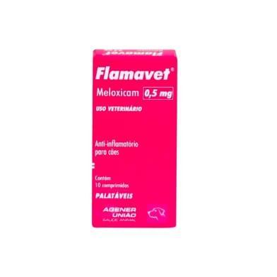 FLAMAVET CAES 0,5MG CART C/ 10CP