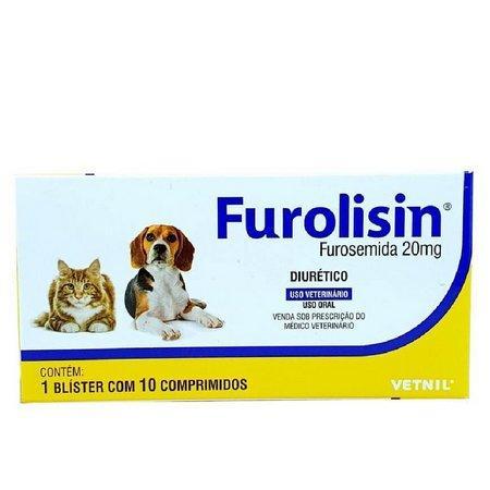 FUROLISIN 20MG 10 COMP.