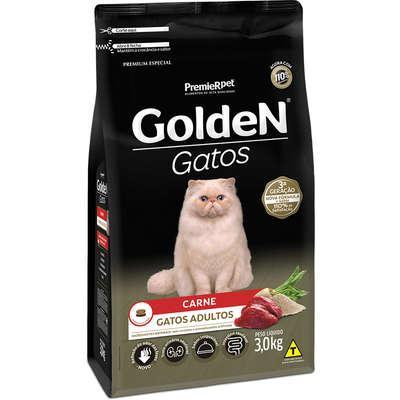 GOLDEN GATOS AD. CARNE 3KG