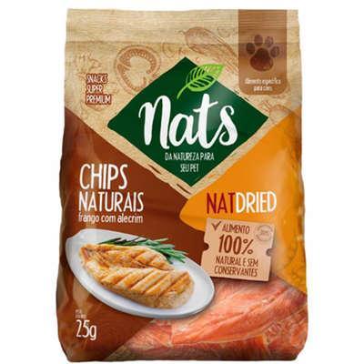 NATS CHIPS FRANGO C ALECRIM 25GR